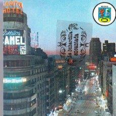 Postales: POSTAL - MADRID - AVENIDA JOSE ANTONIO - BERGAS - NO CIRCULADA. Lote 47651633