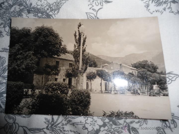 ANTIGUA POSTAL MADRID - NAVACERRADA - FOTO CUADRADO (Postales - España - Madrid Moderna (desde 1940))