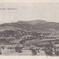 Postales: POSTAL CIRCULADA EN 1957. CERCEDILLA. MADRID. . Lote 47730283