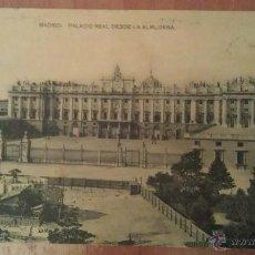 Postales: MADRID - PALACIO REAL. Lote 47738285