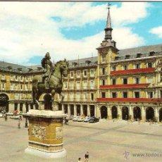 Cartoline: MADRID, PLAZA MAYOR - ESCUDO DE ORO Nº 84 - CIRCULADA. Lote 47815916