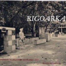 Postales: EXPOSICIÓN DE INDUSTRIAS MADRILEÑAS 1907- SECCIÓN DE CANTERAS. Lote 47832424