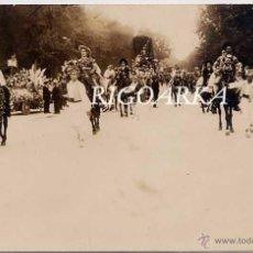 Postales: MADRID.- OCTUBRE 1925- BATALLA DE FLORES EN EL RETIRO- FOTOGRÁFICA. Lote 47832629
