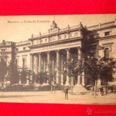 Postales: POSTAL DE MADRID, BOLSA DE COMERCIO, FOTOTIPIA J. ROIG , MADRID.. Lote 47853517