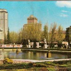 Cartoline: MADRID, JARDINES DE SABATINI - ESCUDO DE ORO Nº 75 - SIN CIRCULAR. Lote 47893580