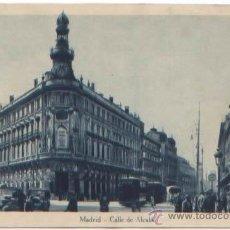 Postales: POSTAL MADRID CALLE DE ALCALA ED. KALLMEYER Y GAUTIER. Lote 48020547