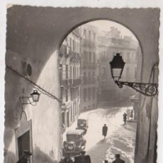 Postales: TARJETA POSTAL MADRID. ARCO DE CUCHILLEROS. Nº 104. AÑO 1957. Lote 48301758