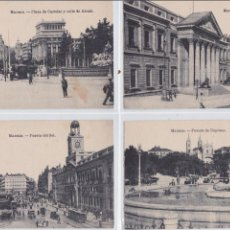 Postales: P- 770. LOTE 4 ANTIGUAS POSTALES FOTOGRAFICAS DE MADRID.. Lote 48533813