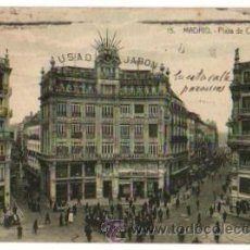 Postales: TARJETA POSTAL MADRID. PLAZA DE CANALEJAS. Nº 15. MÁRGARA. AÑO 1919. Lote 48555157