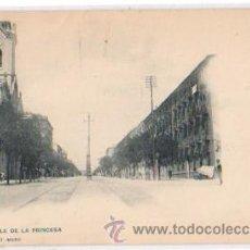Postales: TARJETA POSTAL MADRID. CALLE DE LA PRINCESA. Nº 373. HAUSER Y MENET, CIRCA 1905. Lote 48631112