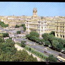 Postales: *MADRID* PANORÁMICA DE LOS PASEOS DEL PRADO Y CALVO SOTELO. 1966.. Lote 48640925