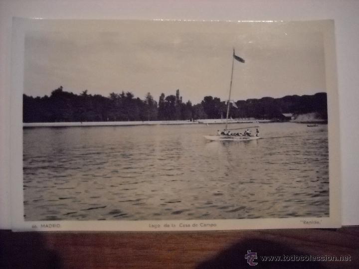 madrid,lago de la casa de campo. - Comprar Postales antiguas de la ...