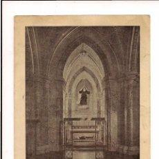 Postales: TARJETA POSTAL ANTIGUA SIN USAR IMAGEN DE LA CAPILLA DE LA BEATA RAFAELA MARÍA DEL SAGRADO CORAZÓN. Lote 48664825