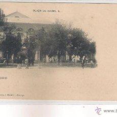 Postales: POSTAL DE MADRID PLAZA ISABEL II .. Lote 48740652