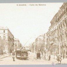 Postales: POSTAL REPLICA RECUERDOS DE MADRID DIARIO 16 CON EL PATROCINIO DE FORTUNA Nº 21 SIN CIRCULAR. Lote 48848095
