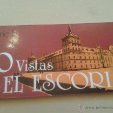 Postales: ALBUM POSTALES PANORAMICAS - 10 VISTAS DE EL ESCORIAL (MADRID) SERIE B - TAMAÑO 22 X 10 CM. Lote 48861306