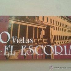 Postales: ALBUM POSTALES PANORAMICAS - 10 VISTAS DE EL ESCORIAL (MADRID) SERIE C - TAMAÑO 22 X 10 CM . Lote 48861308