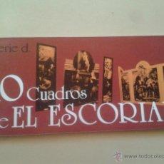Postales: ALBUM POSTALES PANORAMICAS - 10 CUADROS DE EL ESCORIAL (MADRID) SERIE D - TAMAÑO 22 X 10 CM . Lote 48861310
