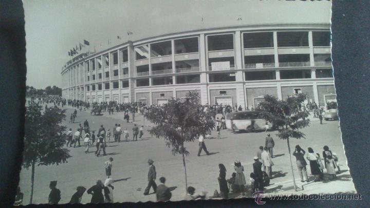 MADRID, ESTADIUM DE CHAMARTIN EXTERIOR Y ACCESOS AL CAMPO (Postales - España - Madrid Moderna (desde 1940))