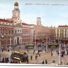 Postales: MADRID-PUERTA DEL SOL -MINISTERIO DE LA GOBERNACIÓN-Nº20. Lote 48883357