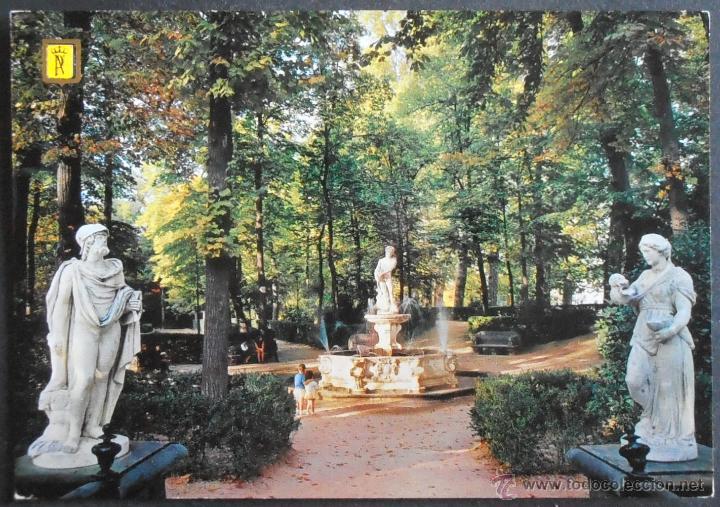 29500 postal escrita fuente de apolo en el jar comprar for El jardin de aranjuez