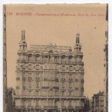 Postales: TARJETA POSTAL MADRID. CONSTRUCCIONES MODERNAS. RED DE SAN LUIS. Nº 729. FOTOTIPIA CASTAÑEIRA, . Lote 49445918