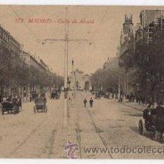 Postales: TARJETA POSTAL MADRID. CALLE DE ALCALÁ. Nº 572. FOTOTIPIA CASTAÑEIRA, AÑOS 30. Lote 49445998
