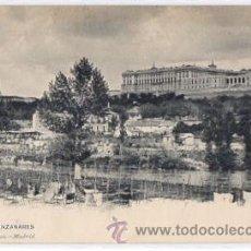 Postales: TARJETA POSTAL MADRID. EL MANZANARES. Nº 90. HAUSER Y MENET, CIRCA 1905. Lote 49447868
