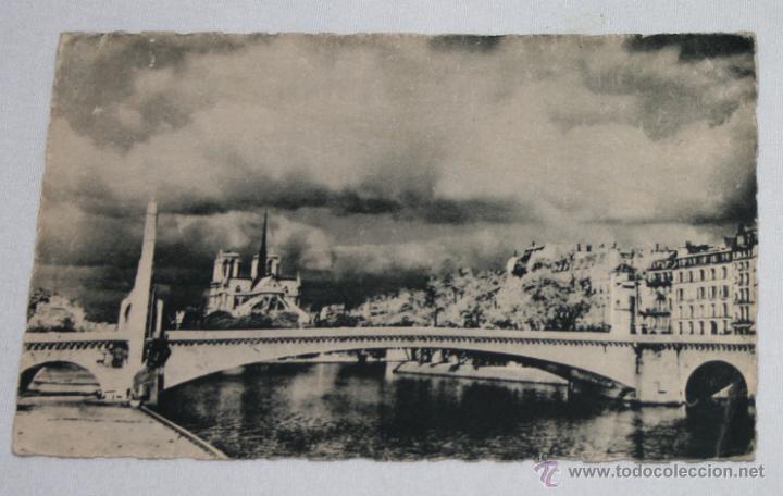 bonita postal antigua de paris, notre dame, mar - Comprar Postales ...