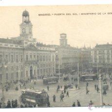 Postales: POSTAL MADRID PUERTA DEL SOL. Lote 49586917