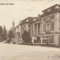 Postales: ANTIGUA POSTAL DE MADRID MUSEO DEL PRADO. Lote 49648458