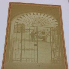 Postales: ANTIGUA Y CURIOSA POSTAL FOTOGRAFICA MADRID - FINALES S.XIX PRINCIPIOS S.XX. Lote 49720054