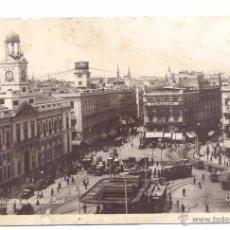Postales: POSTAL MADRID PUERTA DEL SOL. Lote 49924870