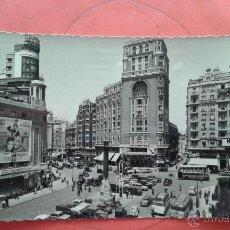 Postales: POSTAL CIRCULADA DE MADRID -PLAZA DEL CALLAO. Lote 49995784