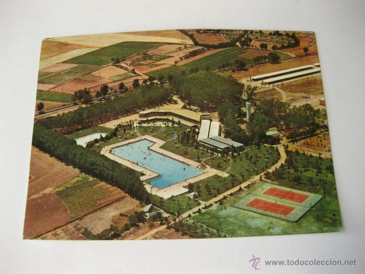 Postal de la super piscina solagua camping le comprar for Piscina solagua leganes