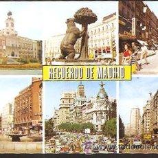 Postales: POSTAL * MADRID , DIVERSOS ASPECTOS *. Lote 176954703