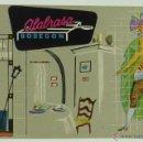 Postales: POSTAL PUBLICIDAD MADRID ALABRASA BODEGÓN RESTAURANTE ALFONSO XII 42 RUESCAS AÑOS 60 SIN CIRCULAR. Lote 101988038