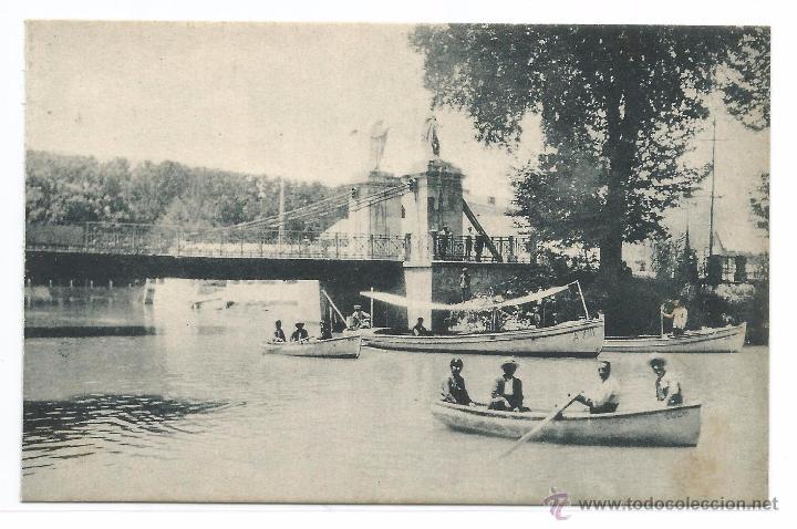 Aranjuez el tajo y el puente colgante edi comprar postales antiguas de la comunidad de - Oficina de turismo de aranjuez ...