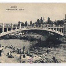 Postales: TARJETA POSTAL MADRID. PUENTE REINA VICTORIA. AÑOS 30. FOTOTIPIA HAUSER Y MENET. Lote 50495527