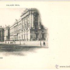 Postales: MADRID PALACIO REAL. Lote 13602561