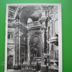 Postales: MADRID PALACIO NACIONAL CAPILLA ANTIGUA TARJETA POSTAL SIN CIRCULAR. Lote 50603270