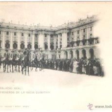 Postales - MADRID PALACIO REAL PALAFRENEROS DE LA REGIA COMITIVA - 46505814