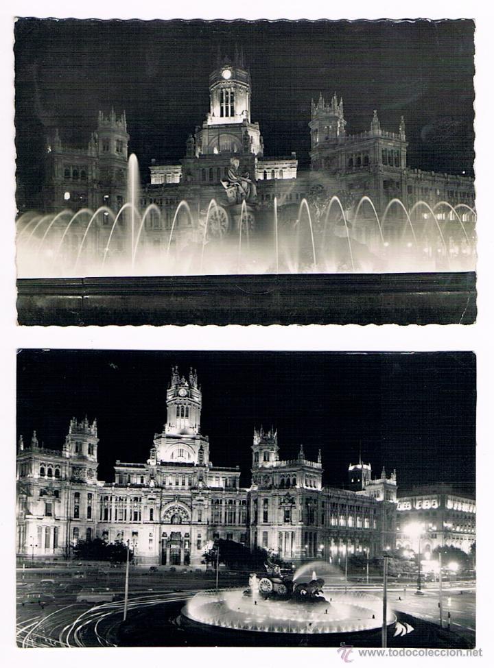 MADRID - LOTE POSTALES ANTIGUAS (Postales - España - Madrid Moderna (desde 1940))