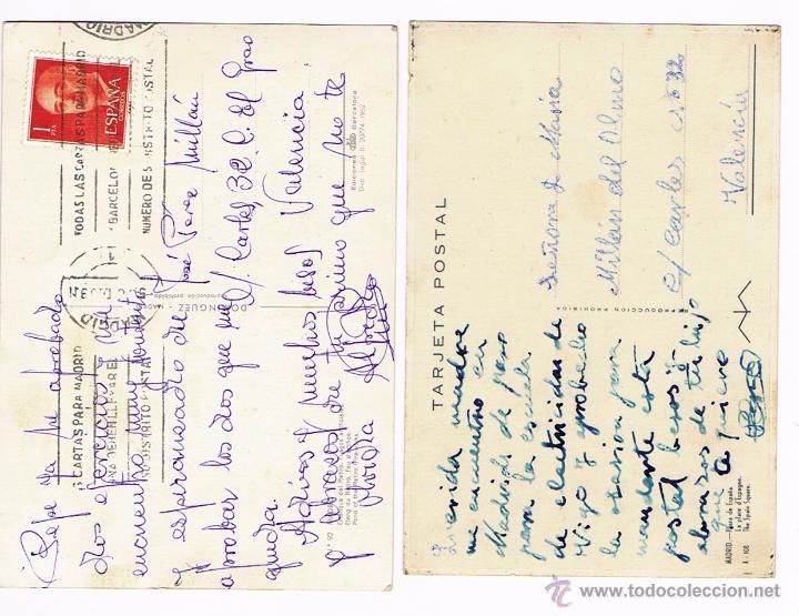 Postales: MADRID - LOTE POSTALES ANTIGUAS - Foto 4 - 50661949