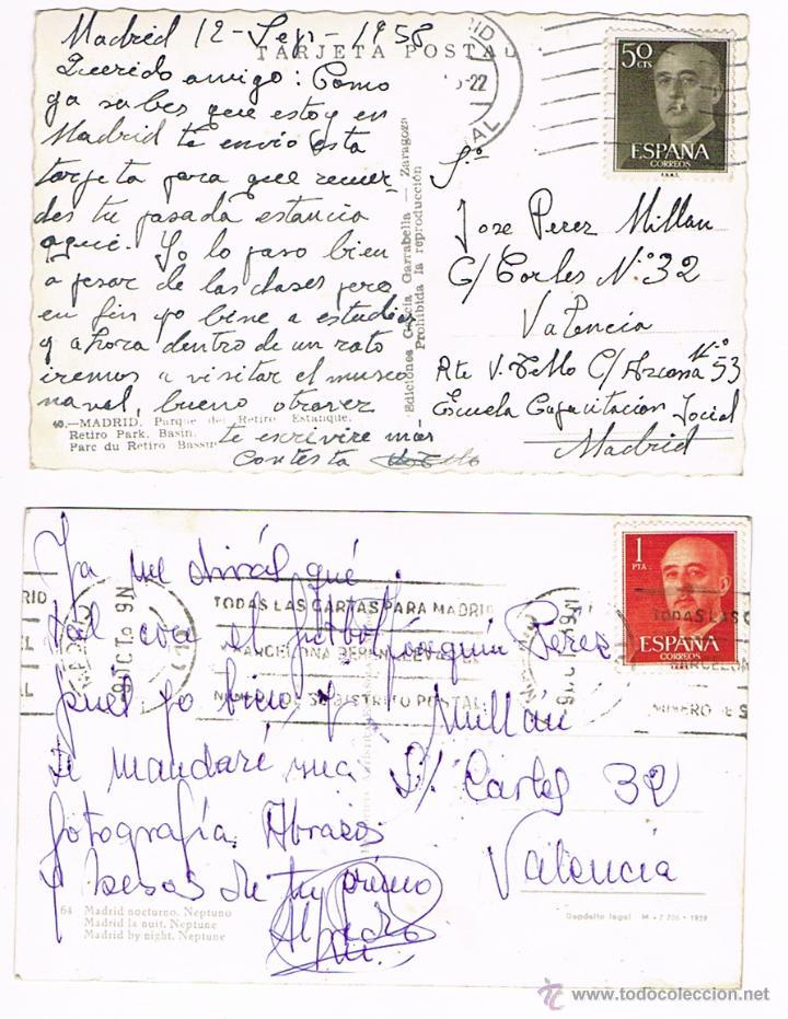 Postales: MADRID - LOTE POSTALES ANTIGUAS - Foto 6 - 50661949