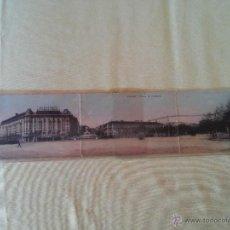 Postales: MADRID - PLAZA DE CANOVAS - POSTAL PANORAMIRA - MEDIDAS 41,3 X 9. Lote 50683015