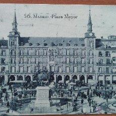 Postales: POSTAL MADRID - PLAZA MAYOR - MADRID. Lote 50871156