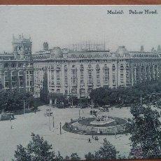 Postales: POSTAL MADRID - PALACE HOTEL - MADRID. Lote 50871197