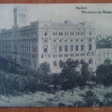Postales: MADRID - MINISTERIO DE MARINA - MADRID. Lote 50875498
