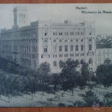 Cartes Postales: MADRID - MINISTERIO DE MARINA - MADRID. Lote 50875498